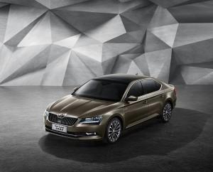 Škoda Superb pro čínský trh, zdroj: Škoda auto