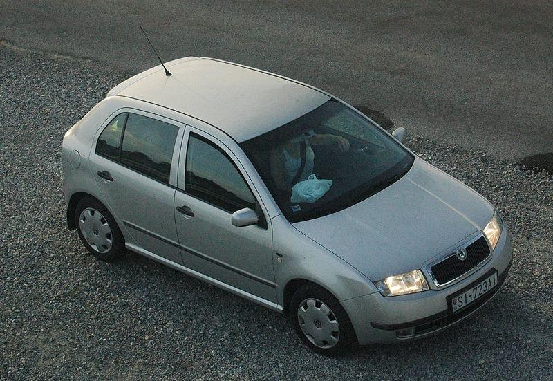 Škoda Fabia 1. generace, zdroj: wikimedia.org