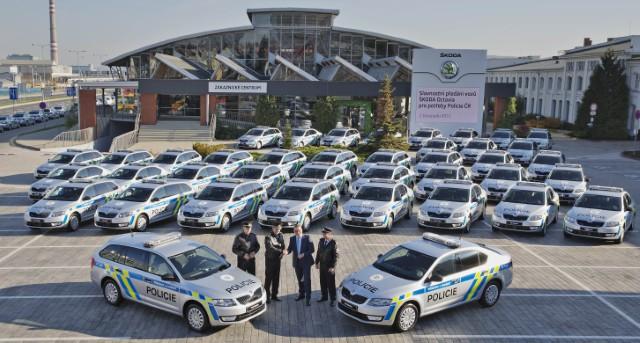 Nové Octavie pro Policii ČR, zdroj: Škoda auto