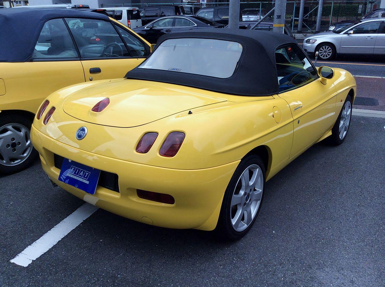 Fiat Barchetta po faceliftu, foto: Tokumeigakarino Aoshima