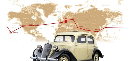 Škoda Rapid kolem světa (1936), zdroj: Škoda auto