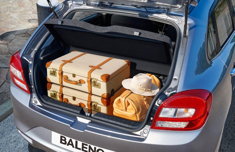 Suzuki Baleno umí zabodovat kufrem, zdroj: Suzuki