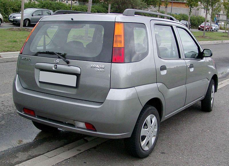 Suzuki Ignis, foto: Rudolf Stricker