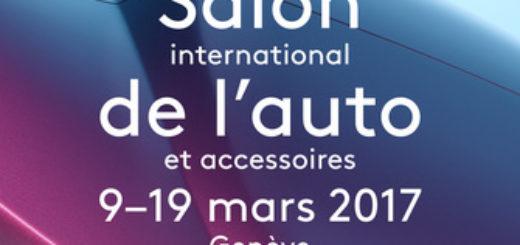 Plakát k 87. mezinárodnímu autosalonu v Ženevě, zdroj: gims.swiss