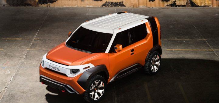 Toyota FT-4X Concept, foto: Toyota