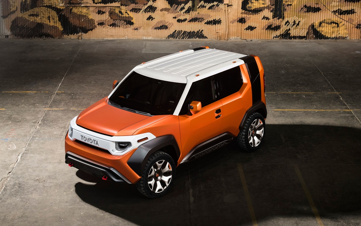 Toyota FT-4X Concept, foto: Toyota