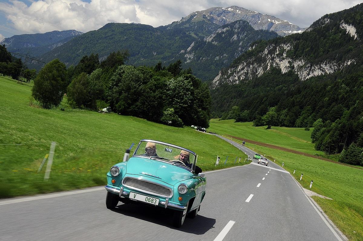 Škoda Felicia na Rally Bodensee Klassik, zdroj: Škoda auto