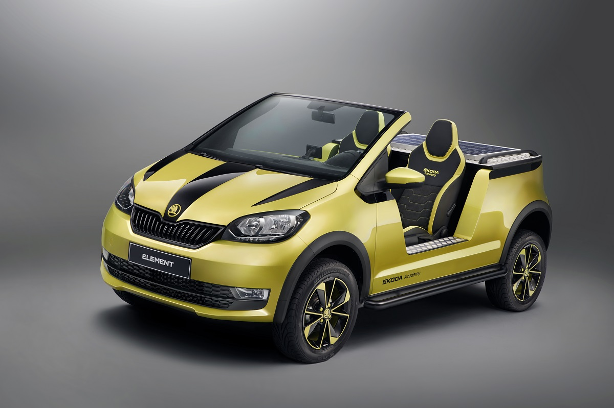 Škoda Element, foto: Škoda auto