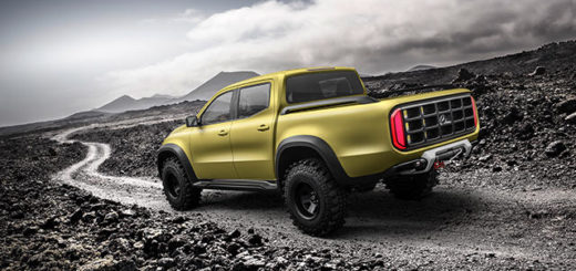 Mercedes-Benz Concept X-CLASS, foto: Mercedes-Benz