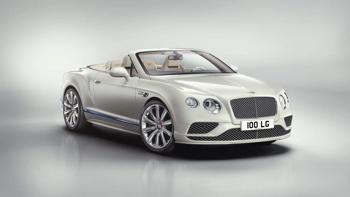 Bentley Continental GT Convertible Galene Edition by Mulliner, foto: Bentley