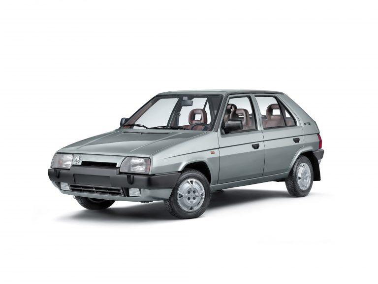 Škoda Favorit - prototyp z dílny studia Bertone z roku 1985, foto: Škoda auto