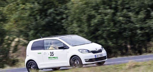Škoda Citigo G-Tec na trati Economy run, zdroj: Škoda auto