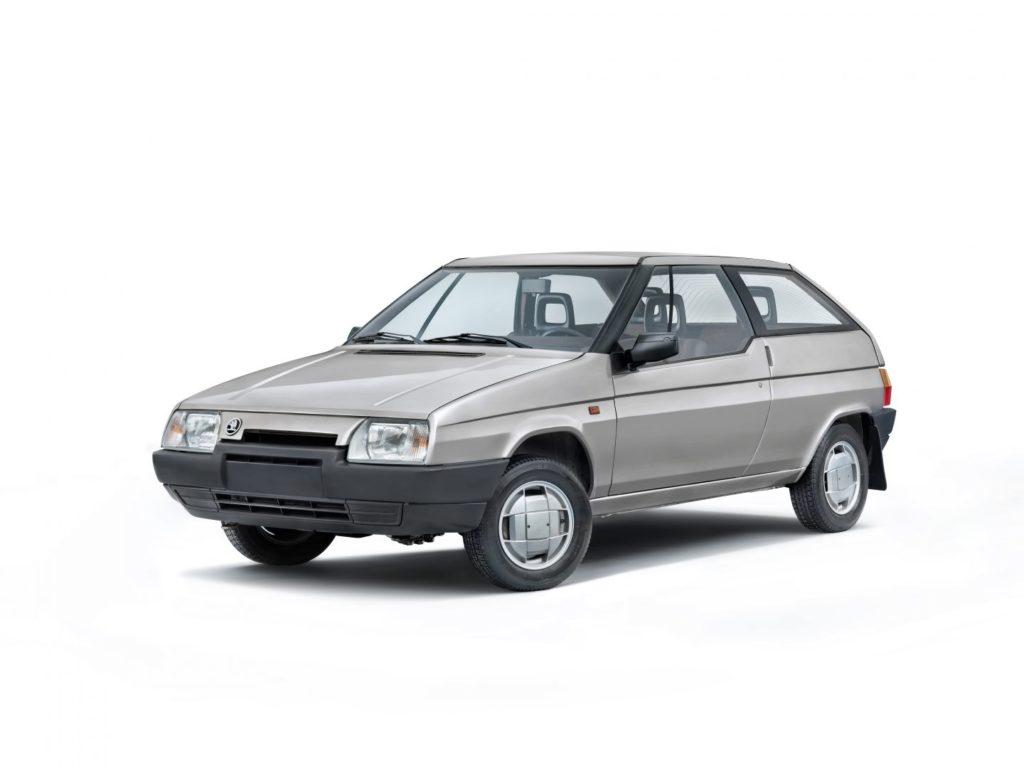 Škoda Typ 783 z roku 1987, foto: Škoda auto