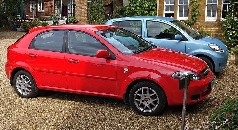 Chevrolet Lacetti, autor: Mick, zdroj: Wikimedia commons, licence: cc-by-2.0