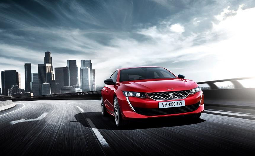Nový Peugeot 508, foto: Peugeot