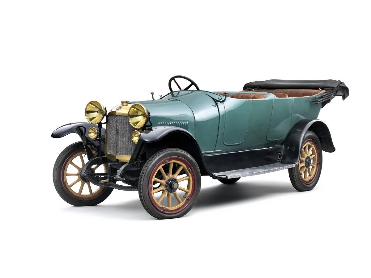 Laurin & Klement typ Si z roku 1918, foto: Škoda auto