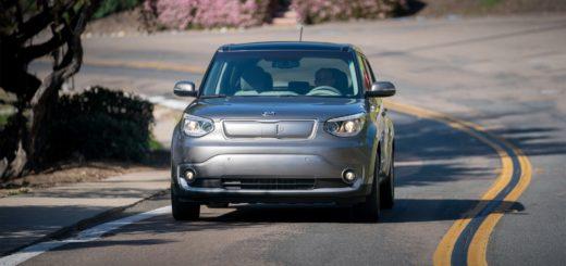 Kia Soul EV při testování, foto: Kia