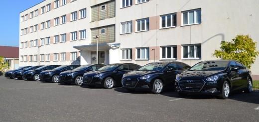Nové Hyundai i40 pro ministerstvo obrany. Zdroj: Hyundai