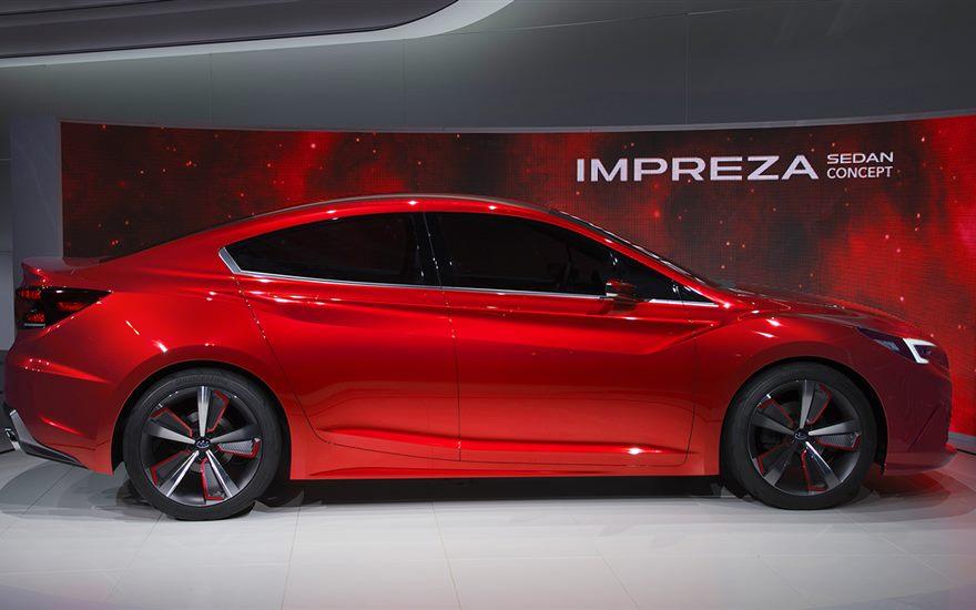 Subaru Impreza sedan concept, Zdroj: Subaru