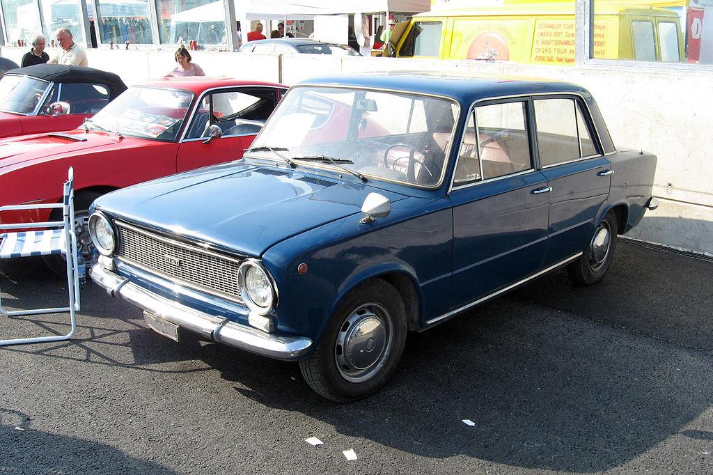 Fiat 124, foto: Luc106, zdroj: Wikimedia