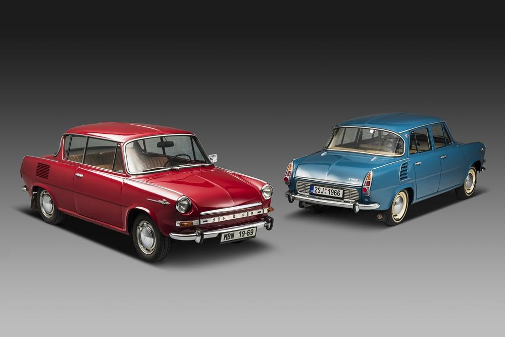 Škoda 1000 MB a 1000 MBX, zdroj: Škoda auto