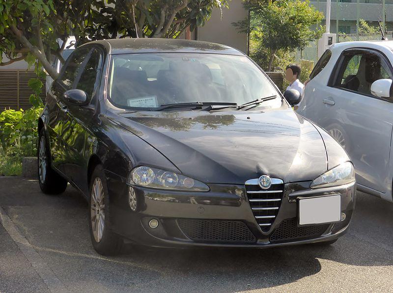 Alfa Romeo 147, foto: Tokumeigakarino Aoshima