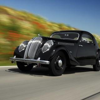 Černé kupé Škoda Popular Sport Monte Carlo z roku 1937 ze sbírak Škoda muzea, zdroj: Škoda auto