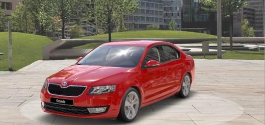 Vyobrazení vozu v prostředí Škoda Car Configurator, zdroj: Škoda auto