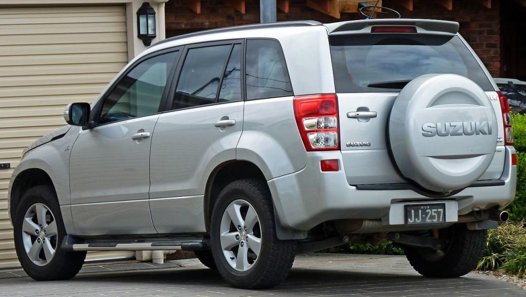 Suzuki Grand Vitara, zdroj: Wikimedia/OSX