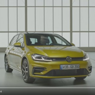 Volkswagen Golf ´2017, zdroj: Youtube/carwow
