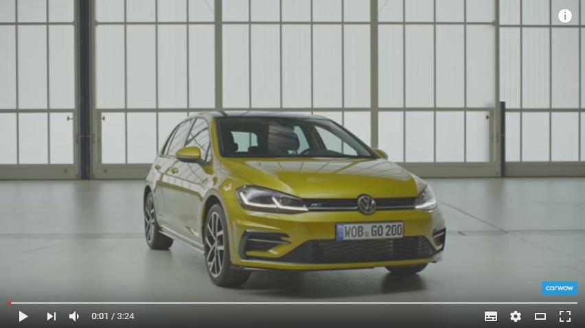 Volkswagen Golf ´2017, zdroj: Youtube/carwow