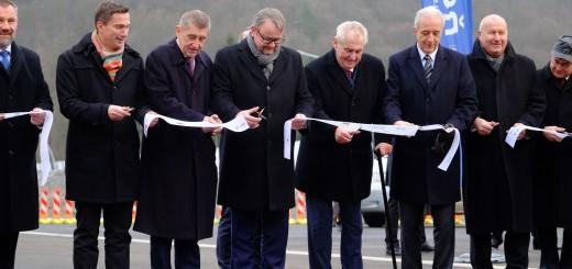 Otevření posledního úseku dálnice D8, zdroj: Ministerstvo dopravy ČR