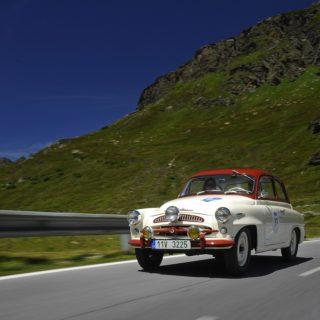 Škoda 440 Spartak na Rally Bodensee Klassik, zdroj: Škoda auto