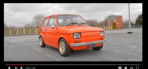 Fiat 126 Abarth, zdroj: Youtube: Trade Plates TV