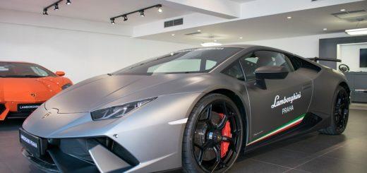 Lamborghini Huracán Performante, foto: Porsche Inter Auto CZ