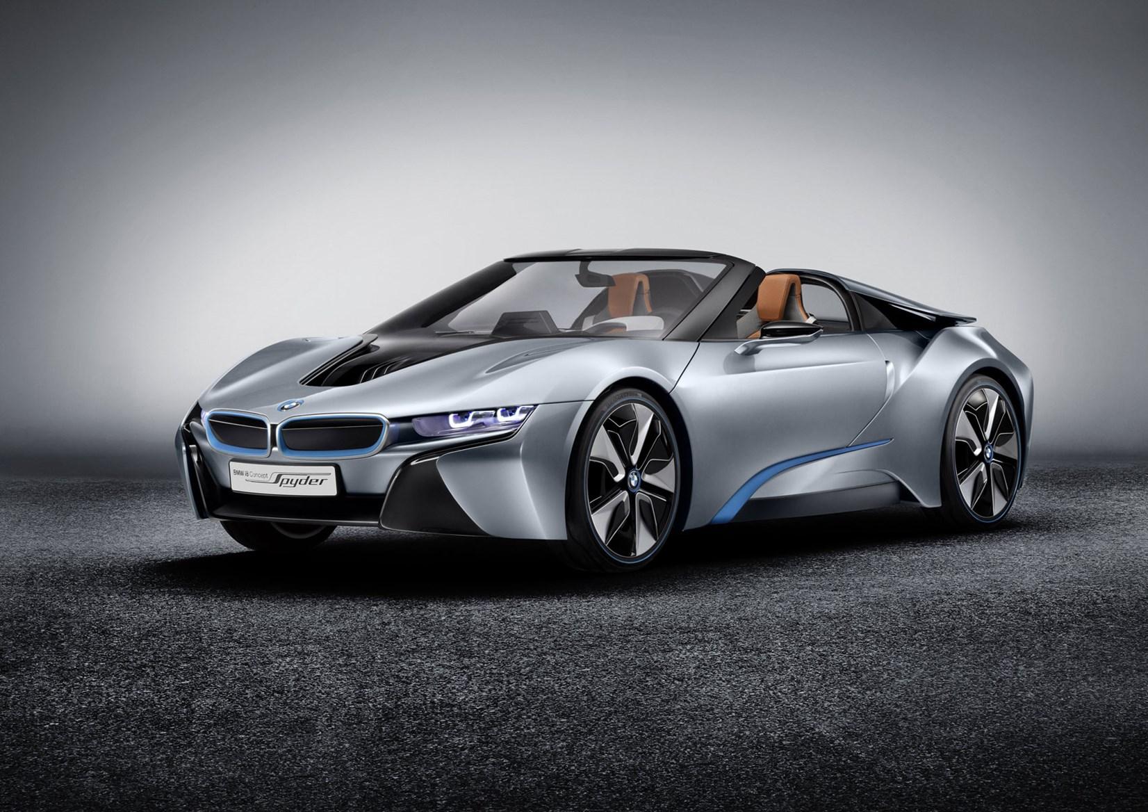 Koncept BMW i8 Spyder z roku 2012, foto: BMW