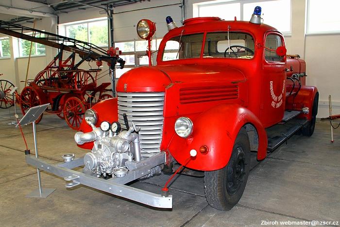 Expozice požární ochrany ve Zbiroze, foto: Hasičský záchranný sbor České republiky