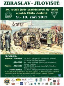 Jízdy pravidelnosti do vrchu Zbraslav-Jíloviště, zdroj: Veteran Car Club Praha