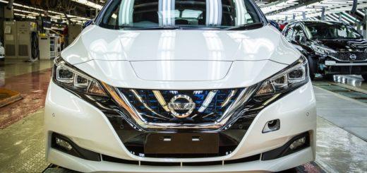 Nový Nissan Leaf, foto: Nissan