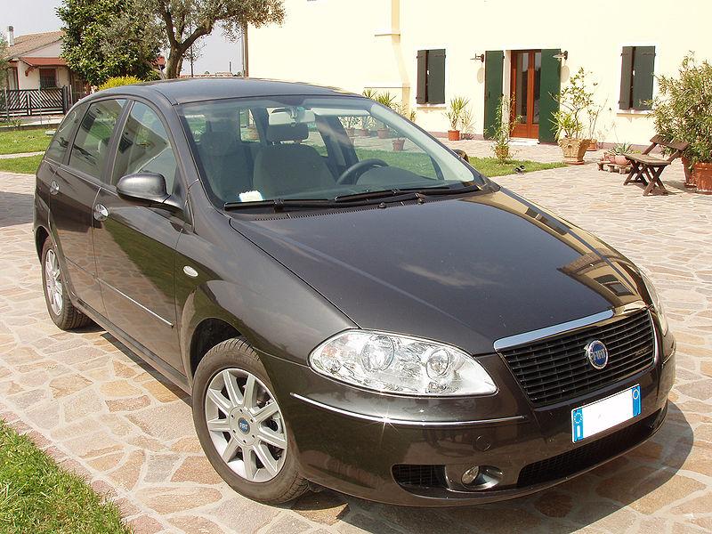 Fiat Croma, autor: Pava, zdroj: Wikimedia commons