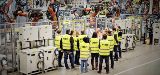Exkurze ve výrobních provozech ŠKODA AUTO, závod Kvasiny. zdroj: Škoda auto