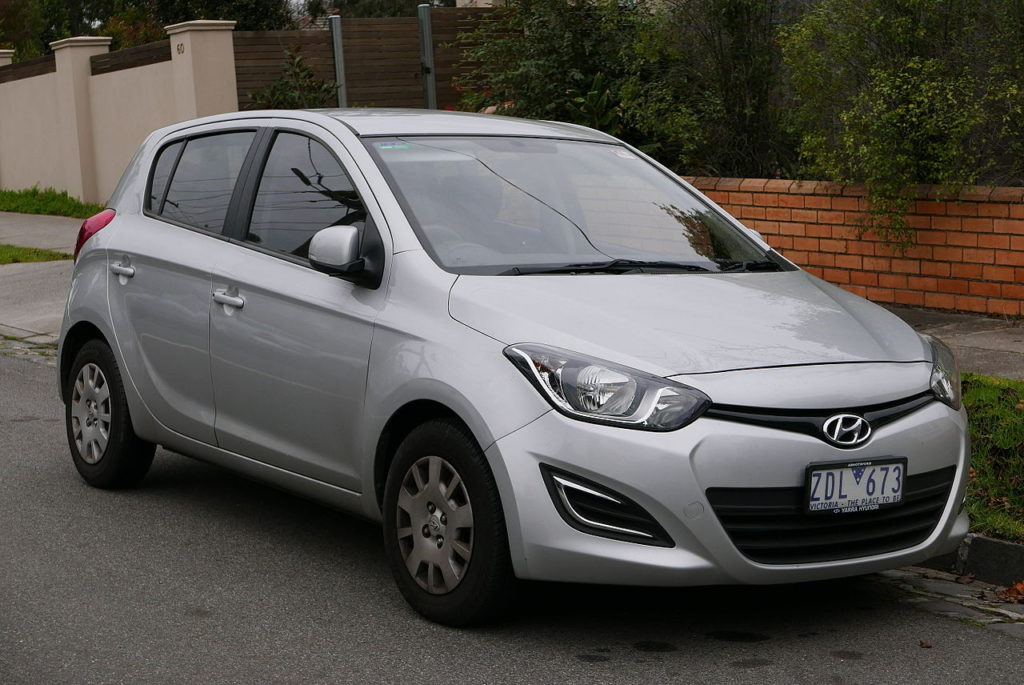 Hyundai i20, By OSX - Own work, Public Domain, https://commons.wikimedia.org/w/index.php?curid=42598447