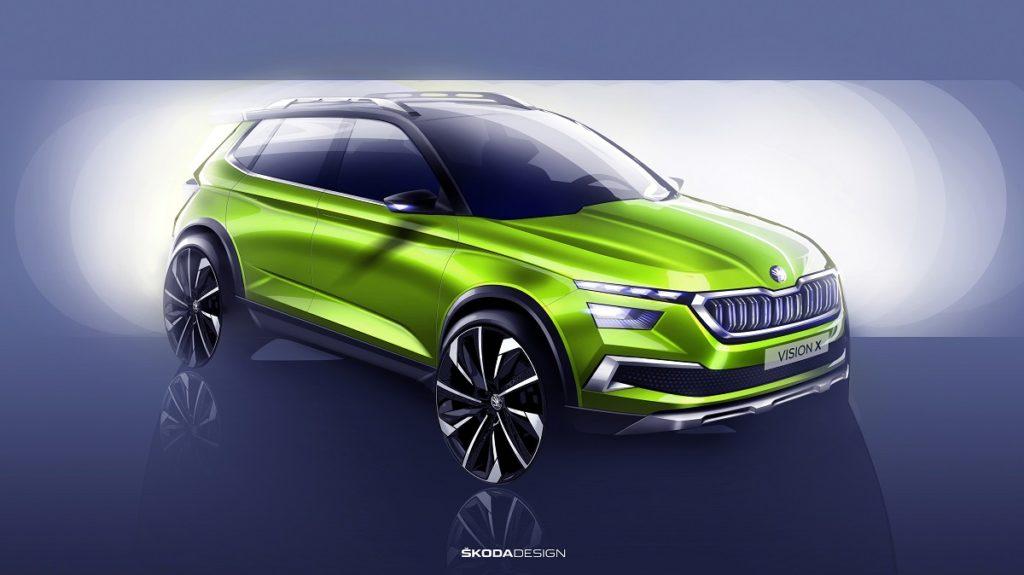 Škoda přiveze do Ženevy také koncept Vision X - Zpětné zrcátko 15edf4d1bf