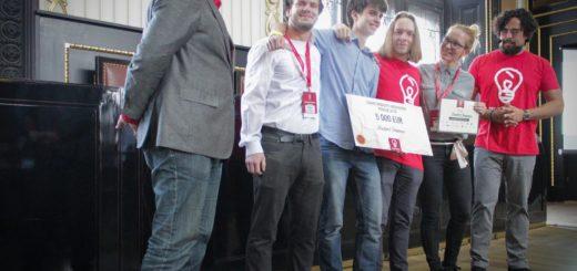 Vítězové - tým Student dreamers, zdroj: Saurusmedia