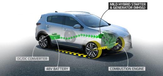 Kia mild-hybrid, zdroj: Kia Motors Czech