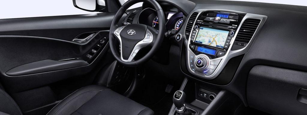 Interiér Hyundai ix20 nezapře svůj věk, funkčně však lze namítat máloco, foto: Hyundai