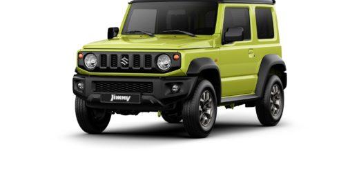Funky vzhled i barvy - to je Suzuki Jimny, foto: Suzuki