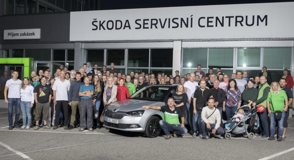 Účastníci soutěže Economy run 2018 o nejnižší spotřebu, foto: Škoda auto