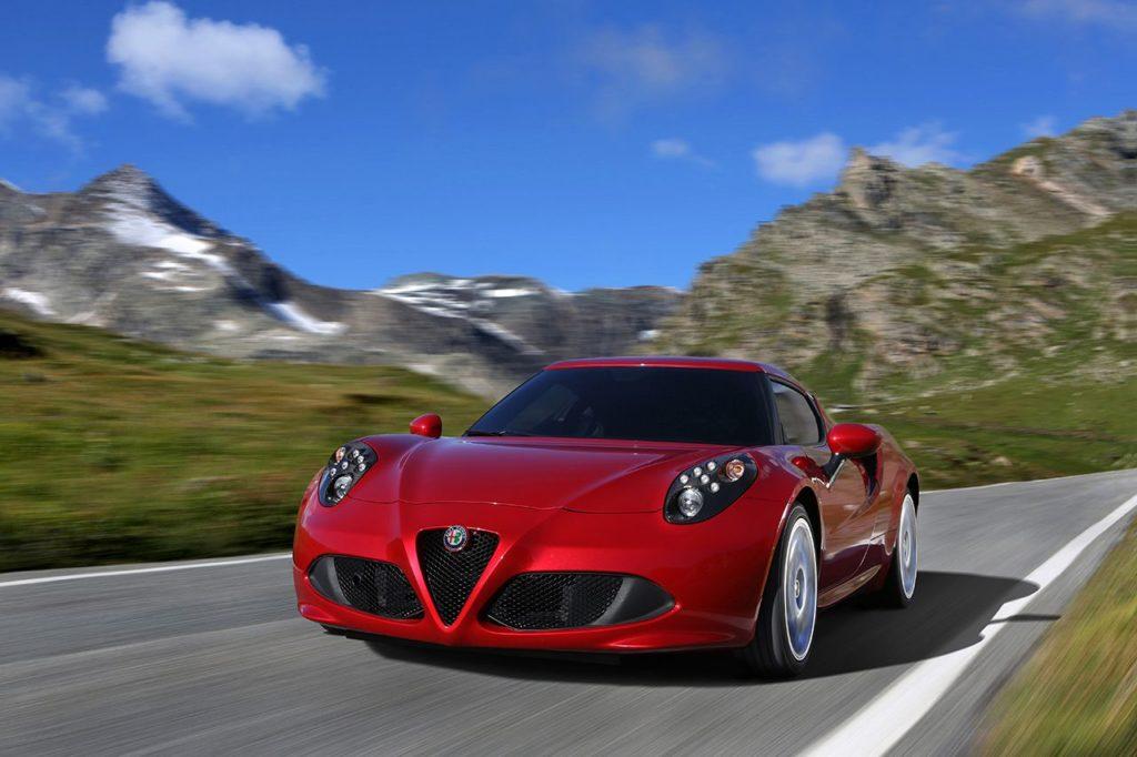 Alfa Romeo 4C, foto: Alfa Romeo