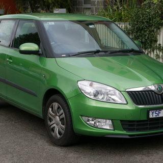 Škoda Fabia 2. generace, autor: OSX - vlastní dílo, Public Domain, https://commons.wikimedia.org/w/index.php?curid=44959816